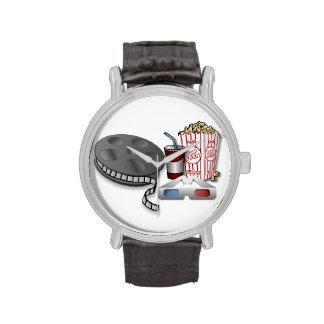 cine 3D Reloj De Mano
