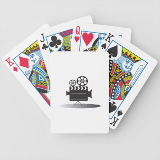 Cine Camera Bicycle Playing Cards