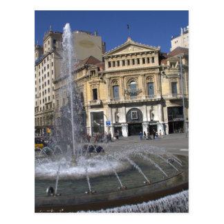 Cine Comedia, Barcelona Postcard
