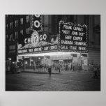 Cine de Chicago en Night, 1941 Póster