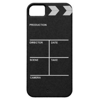cine de la tablilla funda para iPhone 5 barely there