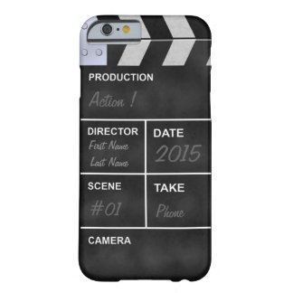 cine del clapperboard funda para iPhone 6 barely there