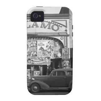 Cine del vintage vibe iPhone 4 carcasas