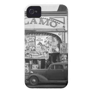 Cine del vintage iPhone 4 Case-Mate fundas