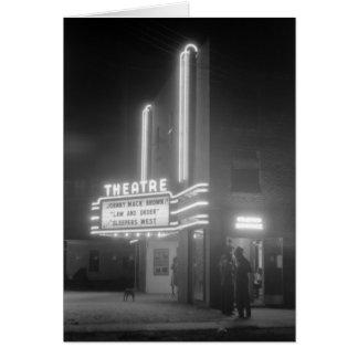 Cine en la noche, los años 40 de Greensboro, Georg Felicitación