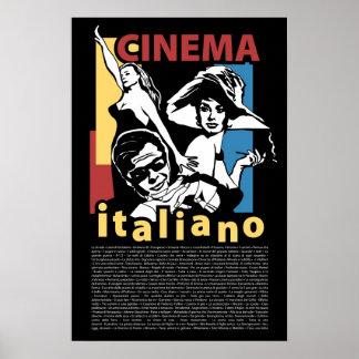 Cine Italiano del poster