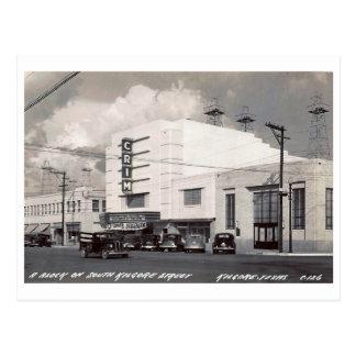 Cine, Kilgore, Tejas, vintage Tarjetas Postales