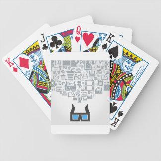Cinema2 Bicycle Playing Cards