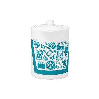 Cinema a cart teapot