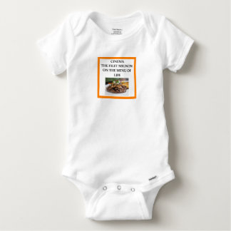 CINEMA BABY ONESIE