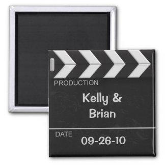 Cinema Clapper Board Magnet Favor