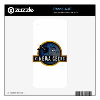 Cinema Geeks iPhone 4 Skins