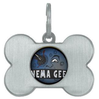 Cinema Geeks Pet Name Tag