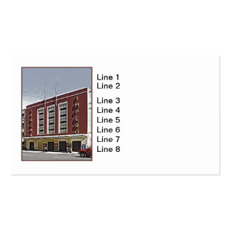 Cinema Impero, Asmara Business Card