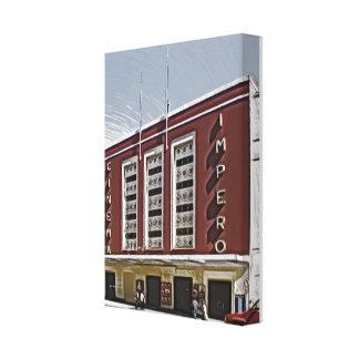 Cinema Impero, Asmara Gallery Wrapped Canvas