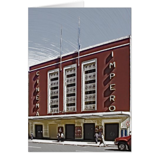 Cinema Impero, Asmara Card