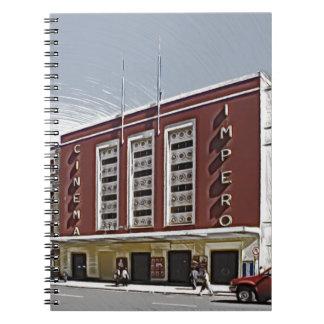 Cinema Impero, Asmara Spiral Notebook