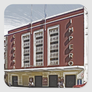 Cinema Impero, Asmara Square Sticker