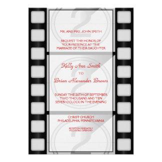 Cinema Large Rectangular Invitation