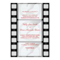 Cinema Large Rectangular Invitation