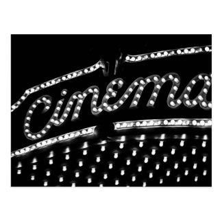 Cinema Marquee Postcard