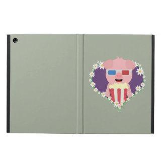 Cinema Pig with flower heart Zvf1w iPad Air Case