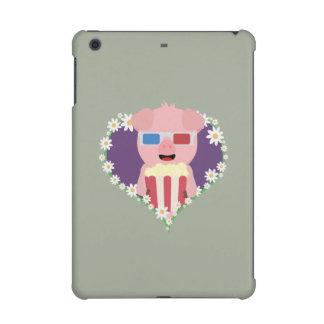 Cinema Pig with flower heart Zvf1w iPad Mini Retina Case