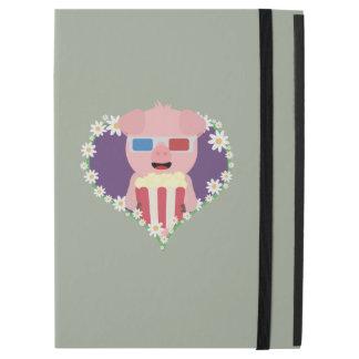 "Cinema Pig with flower heart Zvf1w iPad Pro 12.9"" Case"
