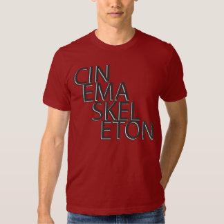 Cinema Skeleton Oreo Tee