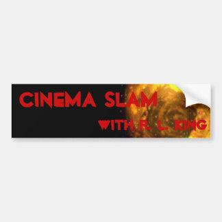 Cinema Slam Bumper 1 Bumper Stickers