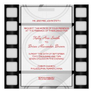 Cinema Square Invitation