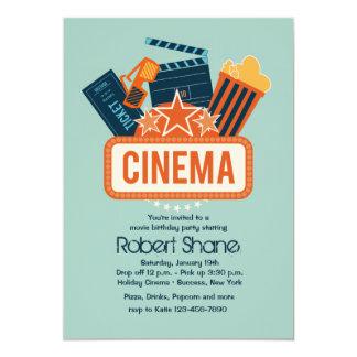"Cinema Star Party Invitation 5"" X 7"" Invitation Card"