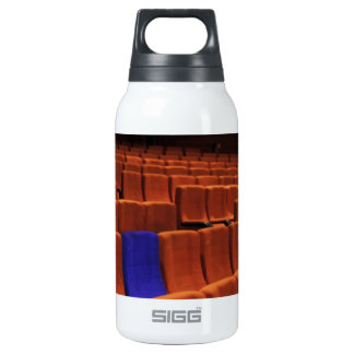 Cinema theater blue seat individual insulated water bottle