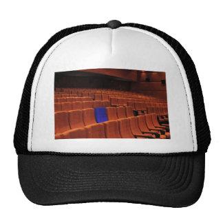 Cinema theater blue seat individual trucker hat