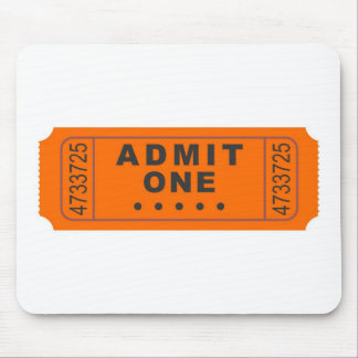 Cinema Ticket Mouse Pad