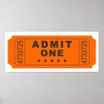 Cinema Ticket Poster