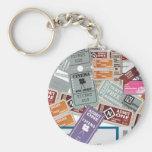Cinema Ticket's Key Chains