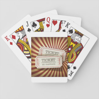 Cinema Tickets Playing Cards