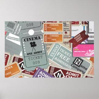 Cinema Ticket's Poster
