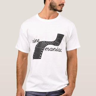 Cinemaniac with Film Strip T-Shirt