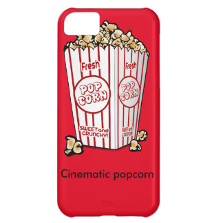 Cinematic popcorn cover for iPhone 5C