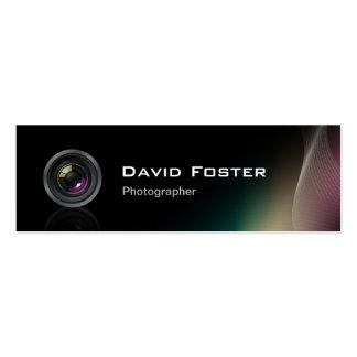 Cinematógrafo independiente del fotógrafo de la pe tarjetas de negocios