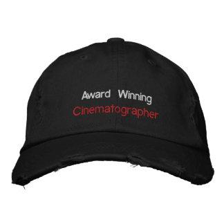 Cinematógrafo premiado gorra de beisbol bordada