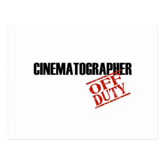 CINEMATOGRAPHER LIGHT POSTCARD