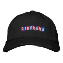 Cinerama Embroidered Baseball Cap