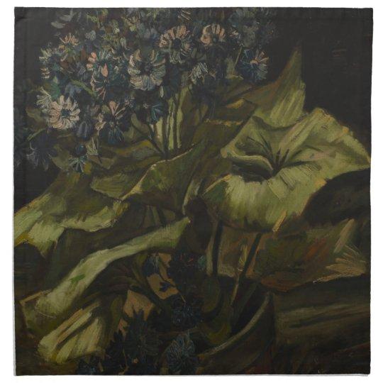 Cineraria by Vincent Van Gogh Cloth Napkin