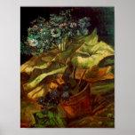 Cineraria in a Flowerpot, Vincent van Gogh Posters