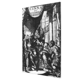 'Cinna ou la Clemence d'Auguste' Canvas Print