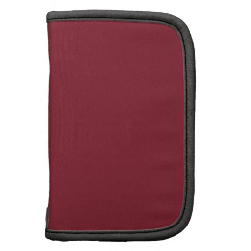 Cinnabar Fashion Solid Color - Customizable Planners