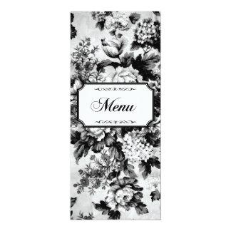 Cinnabar Floral Wedding Suite-Menu Cards